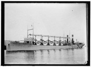 USS Cyclops, c. 1915. Accessed through the Library of Congress online.