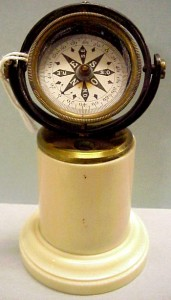 Miniature compass, c. 1910. Courtesy of The Mariners' Museum.
