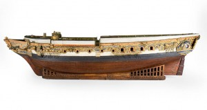 HMS Royal Sovereign Model, courtesy of The Mariners' Museum.