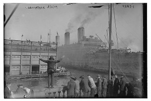 USS Leviathan, March 6, 1919. Courtesy of the Library of Congress online.