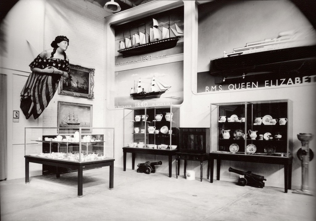 Part of Great Hall Exhibition March, 1953