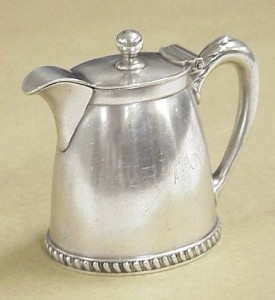 FS 342A, Cream pitcher from the Fall River Steamship Puritan