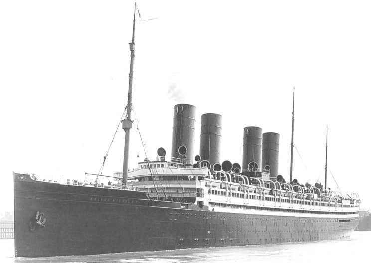 SS Kaiser Wilhelm II - Courtesy of Wikimedia Commons