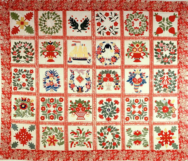 1993.61.01 Baltimore Album Quilt