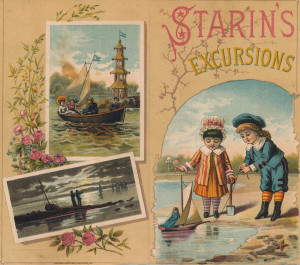 20 - Starin's Excursions brochure, 1880's (1)