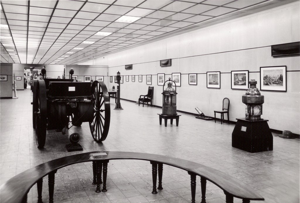 1952 exhibition space