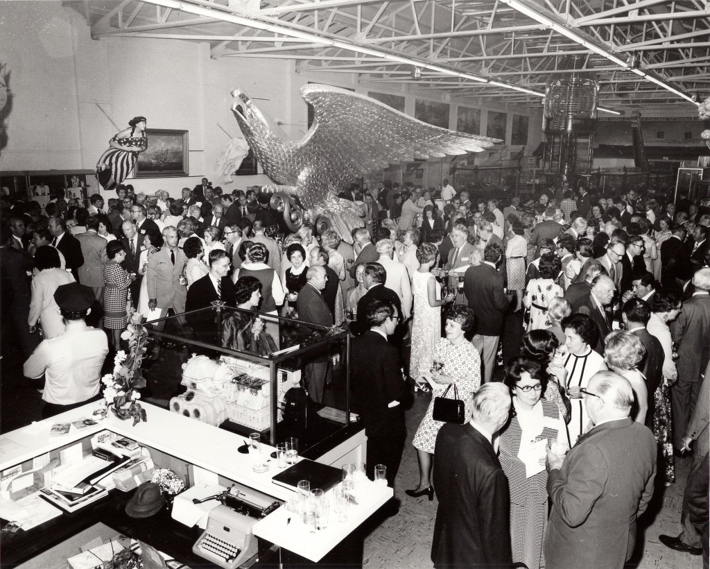 1972, Opening of the Gibbs Gallery