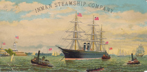 Inman Steamship Company as, City of Chicago, City of Berlin, City of Richmond, etc