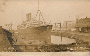 SS Berlin photograph, Newport News, VA (1)