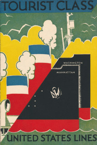 United States Lines, tourist class brochure, 1934 (1)