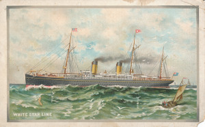 White Star Line ad, Majestic, Tuetonic, Germanic, Brittanic (1)