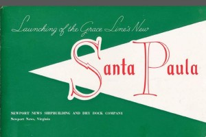 launching of Grace Line's Santa Paula