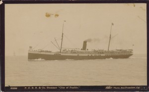 City of Pueblo steamship photograph