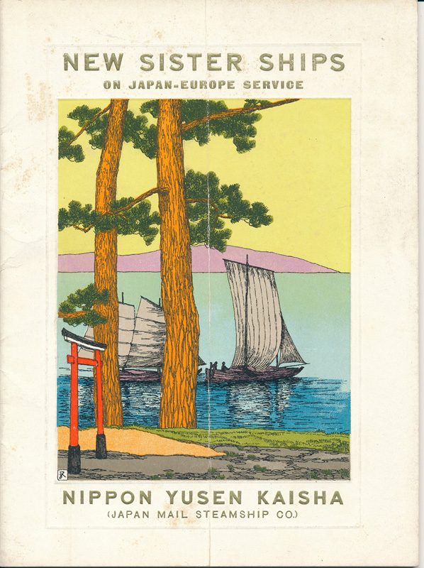 Japan Mail Steamship Co booklet, 1915 (1)