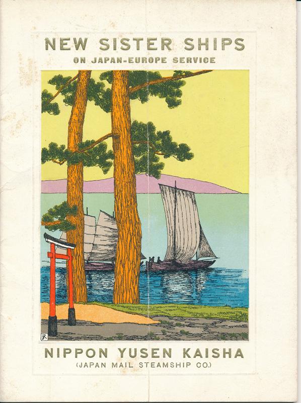 Japan Mail Steamship Co booklet, 1915 (1)
