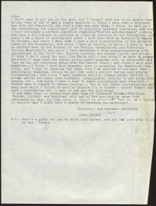 Memo from Irwin Berent to John Newton, ca. 1980, MS0164, Irwin M. Berent Collection