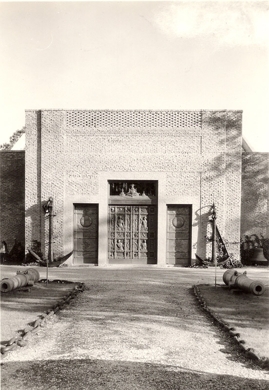 Main entrance December 30, 1937