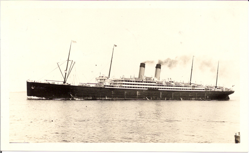 SS Baltic photograph, July 12, 1931