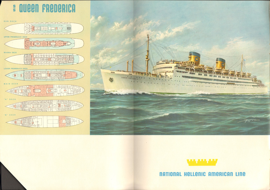 SS Queen Frederica booklet (4)