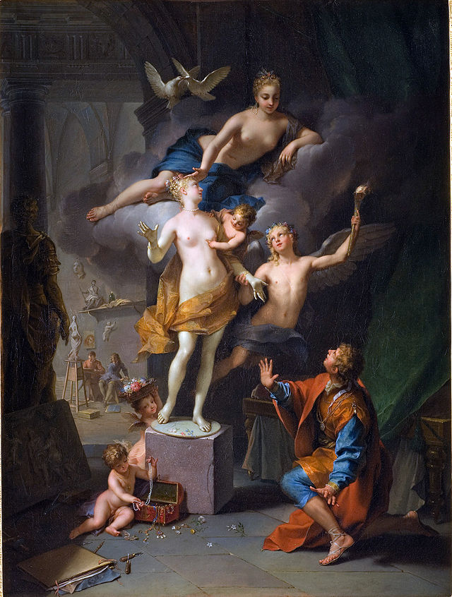 Depiction of Ovid's narrative by Jean Raoux, Courtesy of Wikipedia