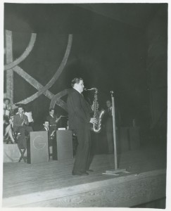 Saxophonist from Gray Gordon's Orchestra