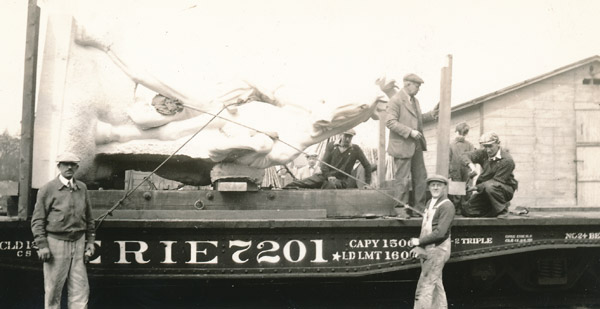 Conquering the Wild being prepared for shipment from NJ to TMM, 1934 (6)
