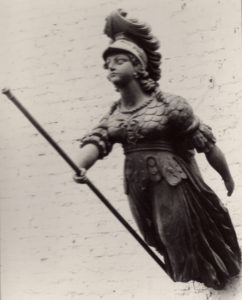 Figurehead attributed to HMS Pallas