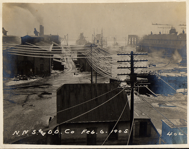A Glimpse of Early 20th-Century Life at Newport News Shipbuilding and Dry Dock Company
