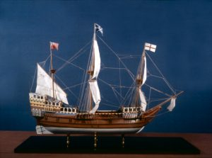 Model of Mayflower