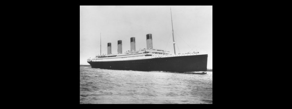 Image of the Titanic