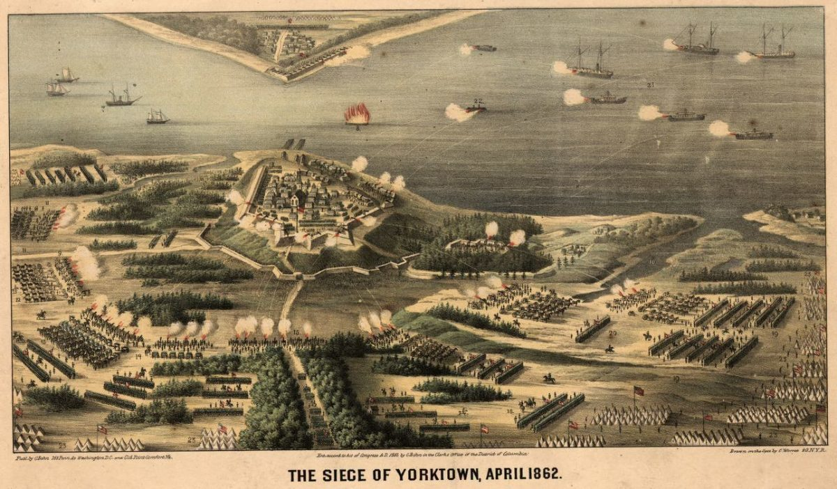 Siege of Yorktown, Part One: The Navies