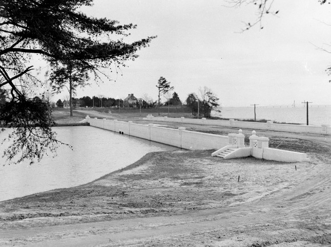 Completed Dam