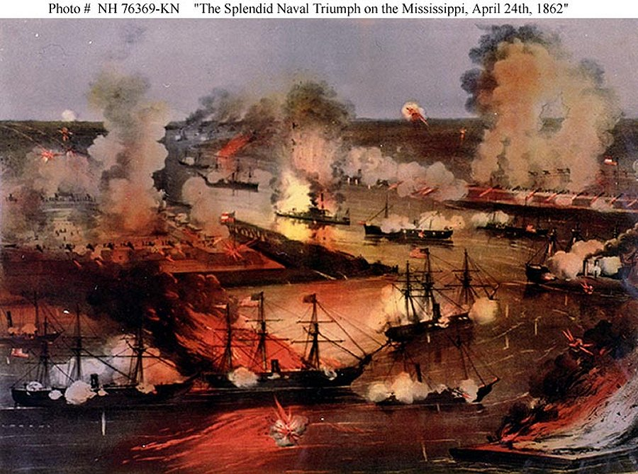 Capture of New Orleans: Farragut's Rise to Fame