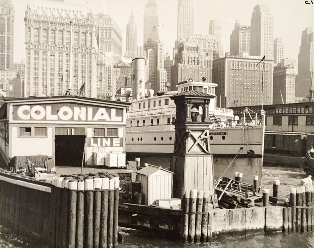 Colonial Line Pier, New York City