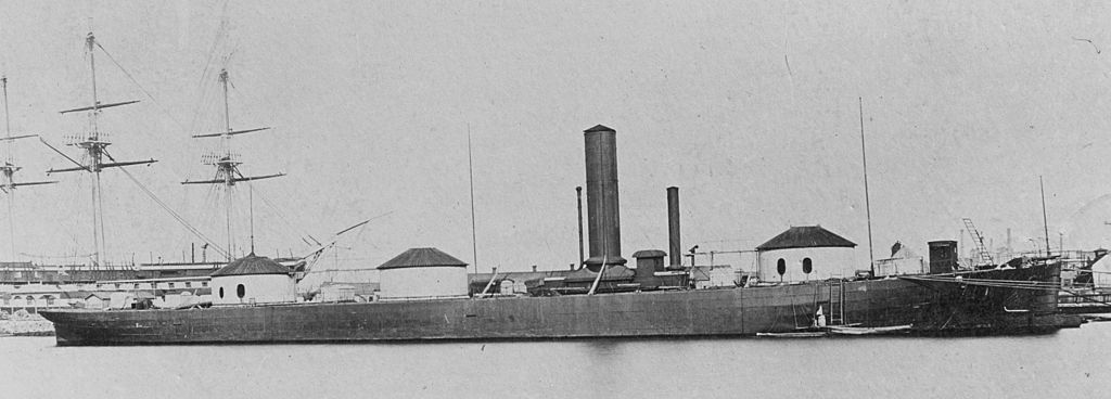 USS ROANOKE: THE THREE-TURRETED MONSTER