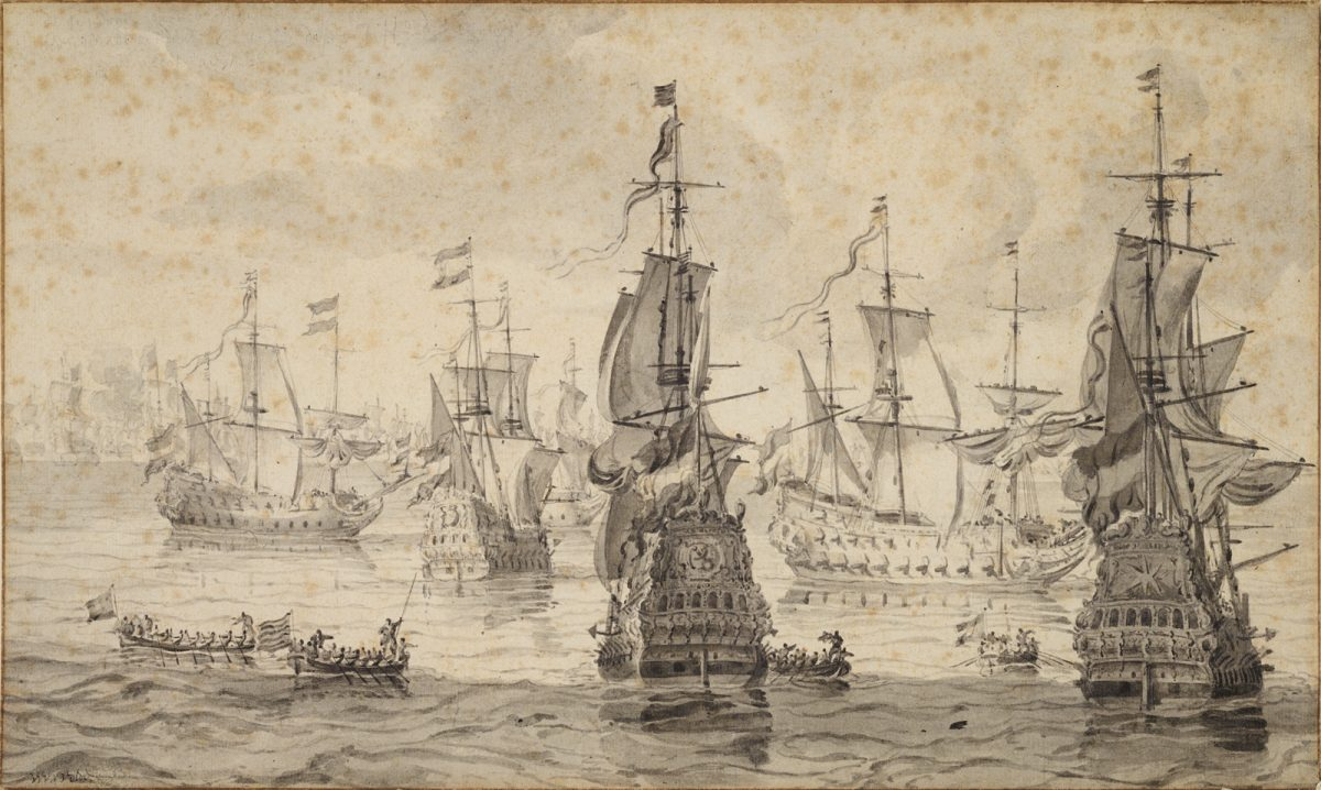 Hampton Roads Invaded: The Anglo-Dutch Naval Wars