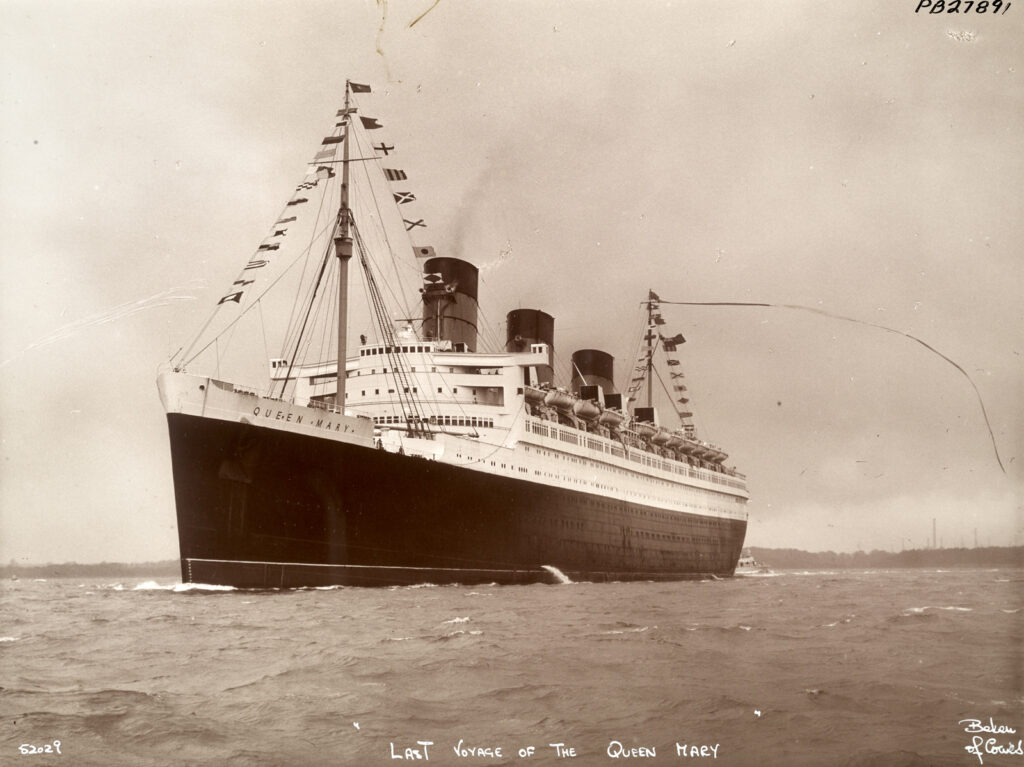 Queen Mary (Turbo steamship : 1936)