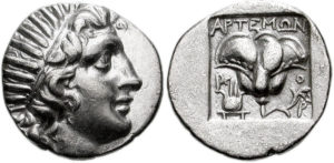 Silver coin from Rhodes