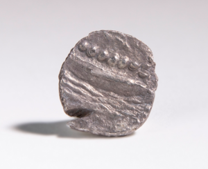 Reverse of Ancient Greek silver coin