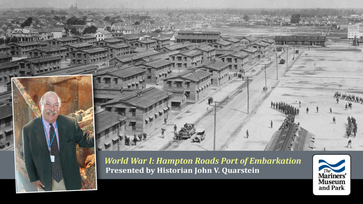 Hampton Roads Port of Embarkation During World War I