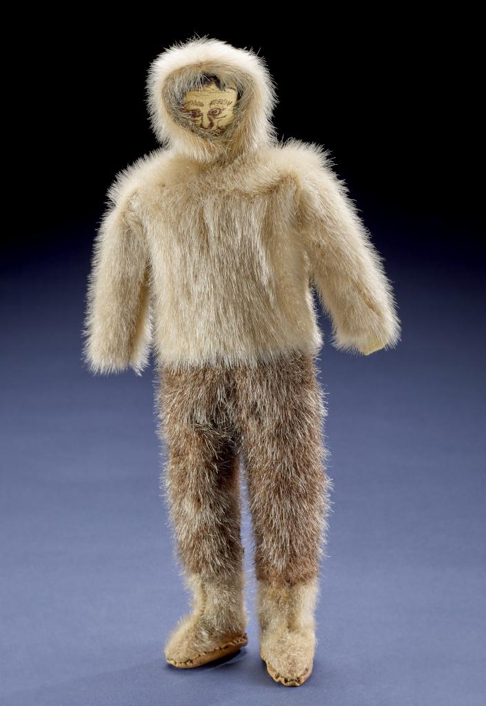 Photograph of Greenland Male dole in hunting attire.