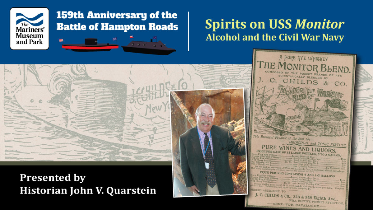 Spirits on the USS Monitor: A Daily Dose of Grog