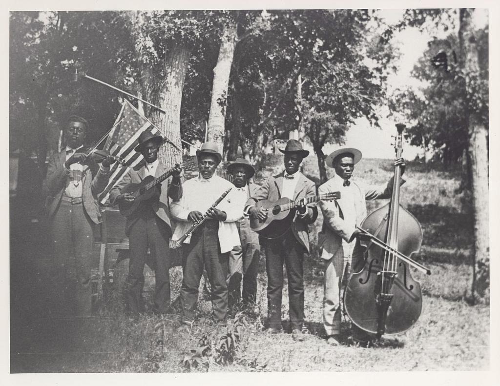 men with instruments
